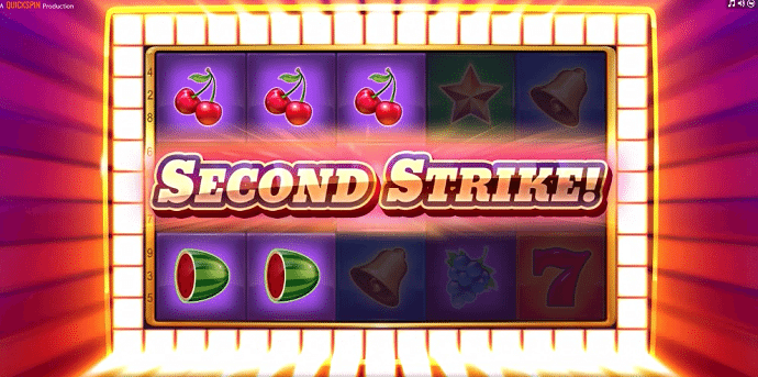 SECOND STRIKE!